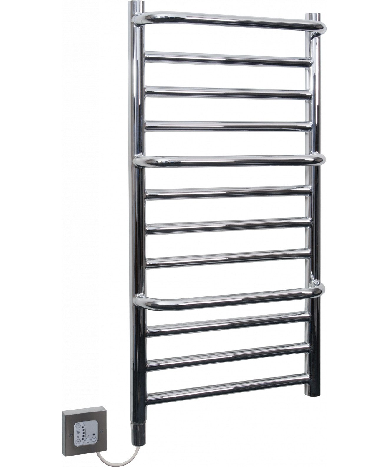 Towel Rails 120W Chrome Stepped Towel Rail CPTS CPTS 0 0