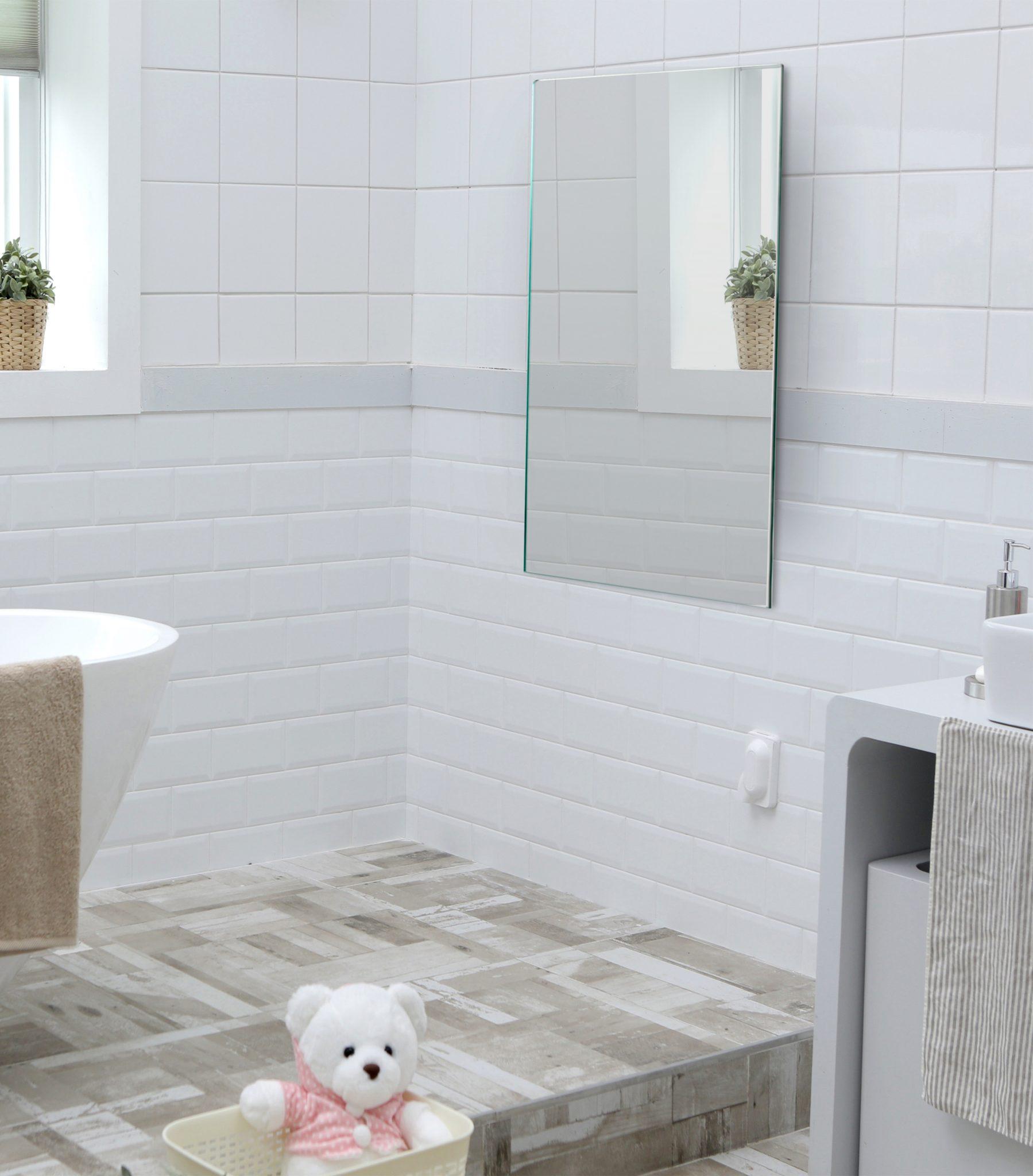 bathroom Mirrored