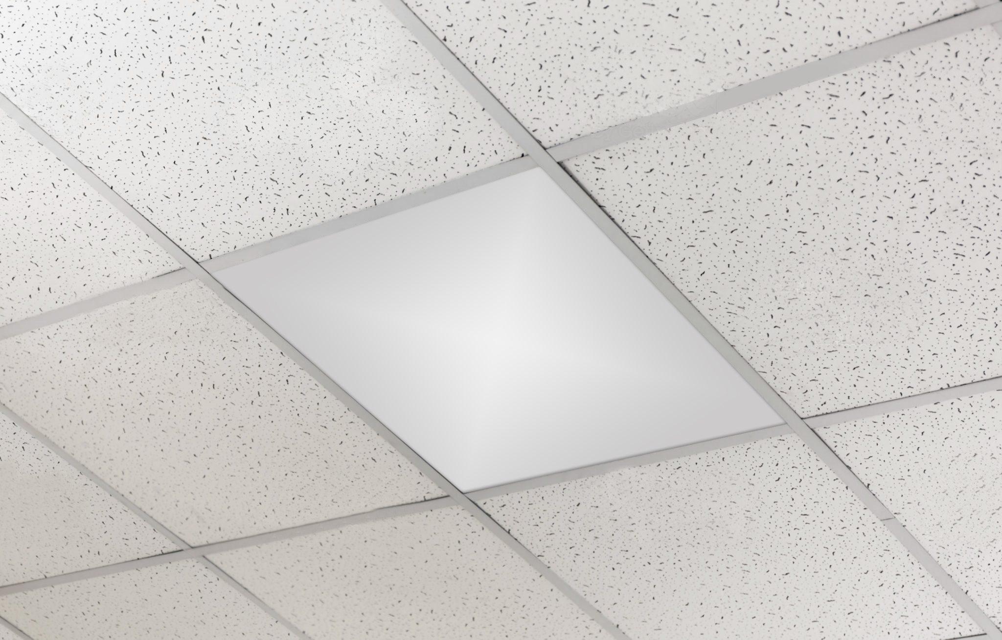 ceiling tile white
