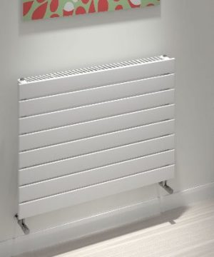 kudox tira slatted radiator horizontal type 11h 588mm x 800mm white 347 p 1