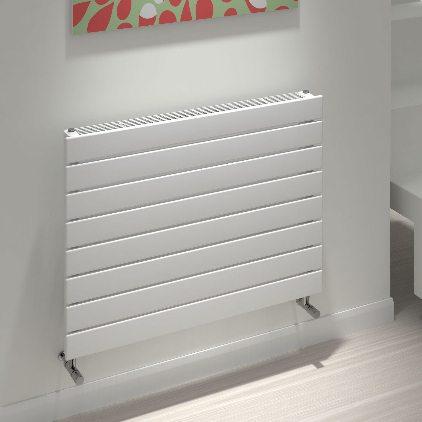 kudox tira slatted radiator horizontal type 11h 588mm x 800mm white 347 p 1
