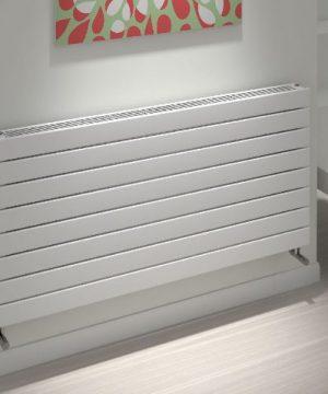 kudox tira slatted radiator horizontal type 21h 588mm x 1200mm white 242 p 1